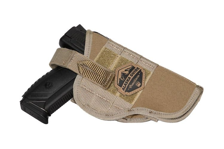 Alaska Guide Creations Pistol Holster 9 Color Options One Size Right or Left Hand